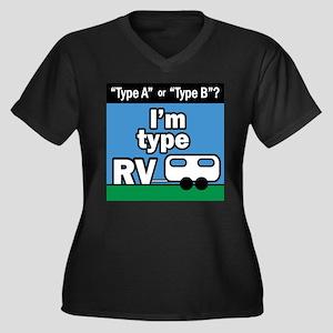 I'm type RV Plus Size T-Shirt