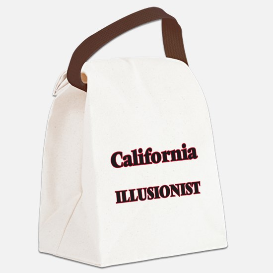 California Illusionist Canvas Lunch Bag
