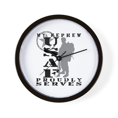 Nephew Proudly Serves 2 - USAF Wall Clock
