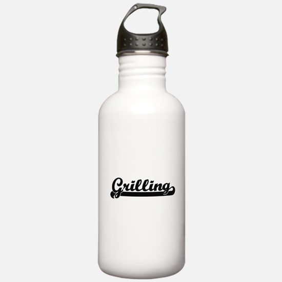 Grilling Classic Retro Water Bottle