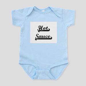 Hot Sauce Classic Retro Design Body Suit