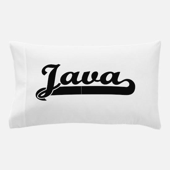 Java Classic Retro Design Pillow Case
