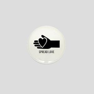 Spread Love Mini Button