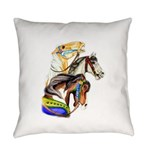 Carousel Horses Everyday Pillow
