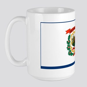 West Virginia State Flag Large Mug
