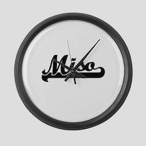 Miso Classic Retro Design Large Wall Clock