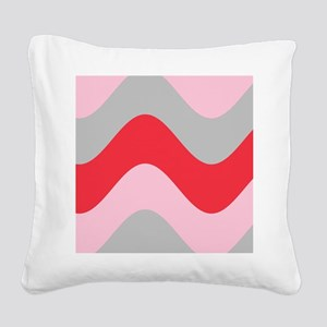Wavy Wonder Mario's Fave Square Canvas Pillow