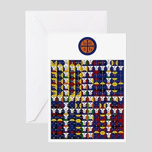 WaterEnoSig2335 Greeting Cards