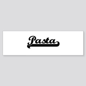 Pasta Classic Retro Design Bumper Sticker