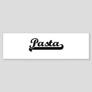 Pasta Classic Retro Design Bumper Sticker