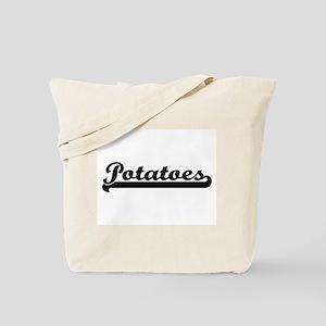 Potatoes Classic Retro Design Tote Bag