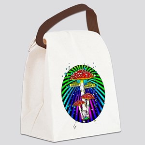 Haight Ashbury Mushrooms Canvas Lunch Bag