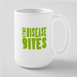 Lyme Disease Bites - Lime-green Mugs