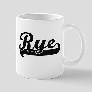 Rye Classic Retro Design Mugs