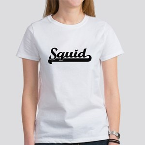 Squid Classic Retro Design T-Shirt