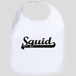 Squid Classic Retro Design Bib