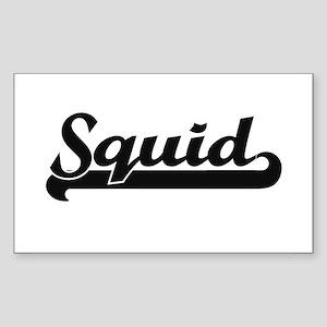 Squid Classic Retro Design Sticker