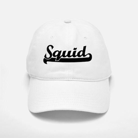 Squid Classic Retro Design Baseball Baseball Cap