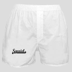 Squid Classic Retro Design Boxer Shorts