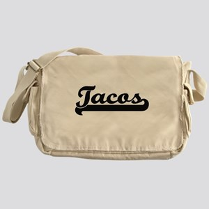Tacos Classic Retro Design Messenger Bag