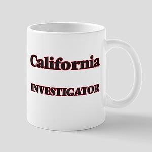 California Investigator Mugs
