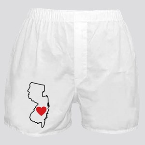 I Love New Jersey Boxer Shorts