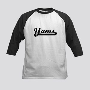 Yams Classic Retro Design Baseball Jersey