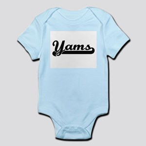 Yams Classic Retro Design Body Suit