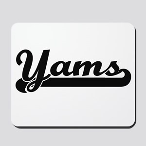 Yams Classic Retro Design Mousepad