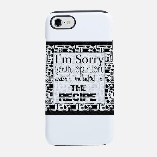 kitchen humor iPhone 8/7 Tough Case