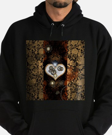 Steampunk, beautiful heart Hoodie
