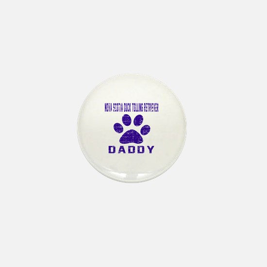Nova Scotia Duck Tolling Retriever Dad Mini Button