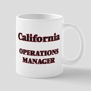 California Operations Manager Mugs