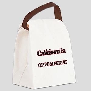 California Optometrist Canvas Lunch Bag
