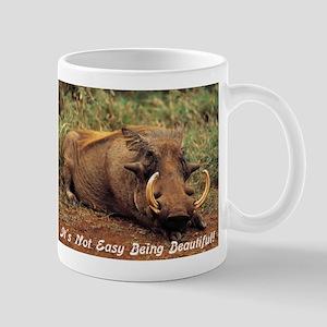 It's Not Easy Being Beatiful Mug