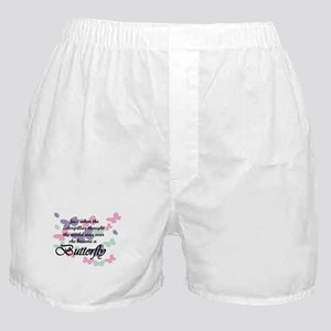 Inspirational Butterfly Boxer Shorts