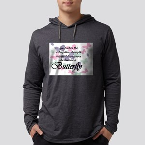 Inspirational Butterfly Long Sleeve T-Shirt