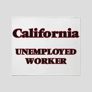 California Unemployed Worker Throw Blanket
