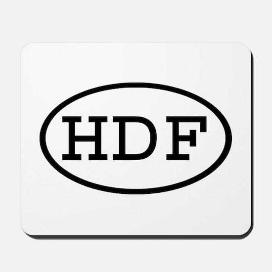 HDF Oval Mousepad