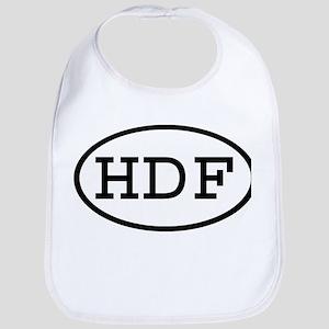 HDF Oval Bib