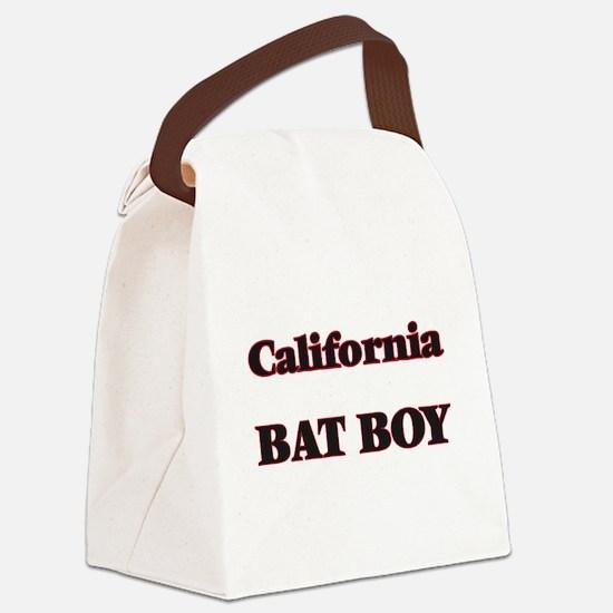 California Bat Boy Canvas Lunch Bag