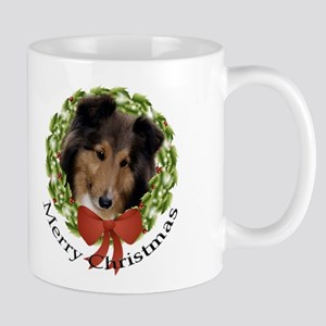 Sheltie Christmas Mug #1