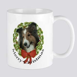 Sheltie Christmas Mug #2