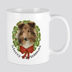 Sheltie Christmas Mug #3