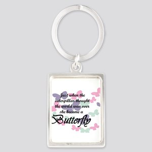 Inspirational Butterfly Keychains
