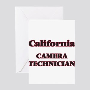 California Camera Technician Greeting Cards