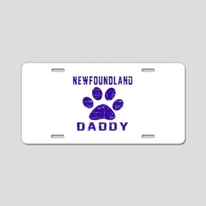 Newfoundland Daddy Designs Aluminum License Plate