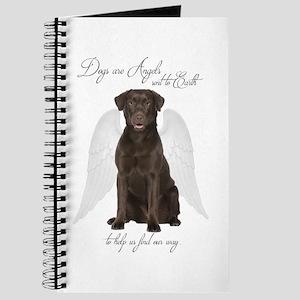 Chocolate Lab Angel Journal