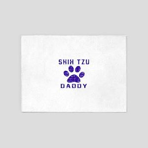 Shih Tzu Daddy Designs 5'x7'Area Rug