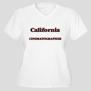 California Cinematographer Plus Size T-Shirt